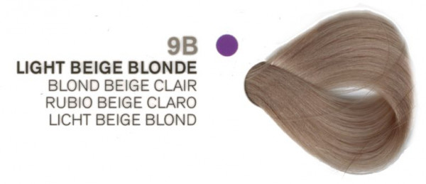 Joico Vero K-Pak Color 9B LIGHT BEIGE BLONDE 74 ml