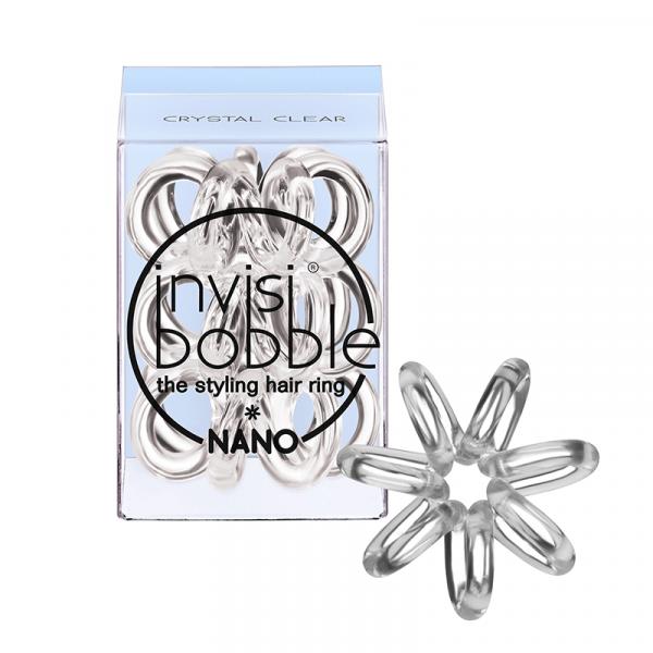InvisiBobble Nano Crystal Clear 3 Gummis