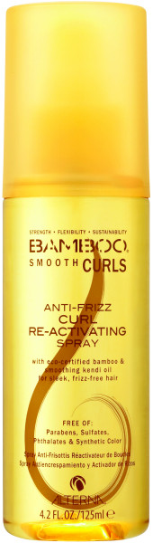 ALTERNA Bamboo Smooth Curls Anti-Frizz Curl Reactivating Spray 125 ml