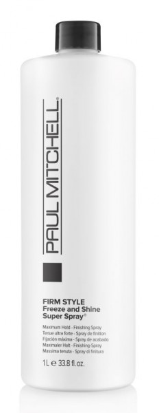 PAUL MITCHELL Freeze and Shine Super Spray® Finishing Spray 1000 ml